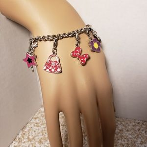 Other - Minnie Mouse Themed Charm Bracelet